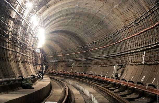 В Петербурге продолжение четвертой линии метро построят за 21,4 млрд рублей