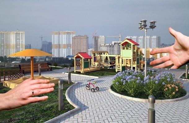 Жители требуют создать сквер в Шушарах