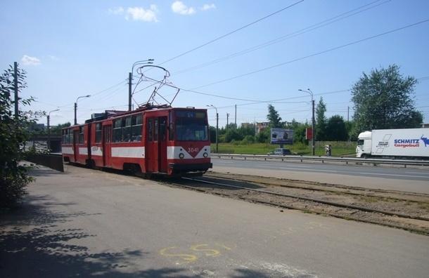На выходных закрывается движение трамваев по проспекту Косыгина
