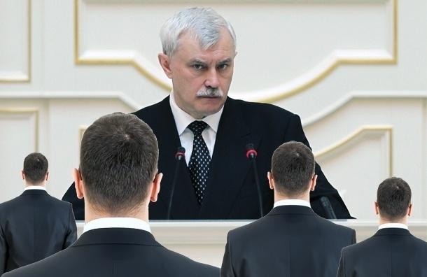 Георгий Полтавченко: рванем через 1,5 года и Эрмитаж не отдадим