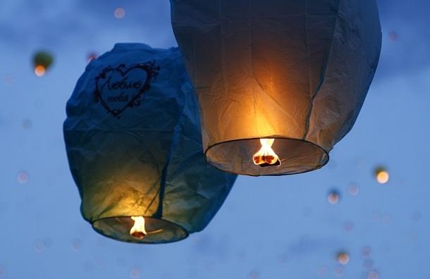 Виталий Милонов требует запретить использование «небесных фонариков»