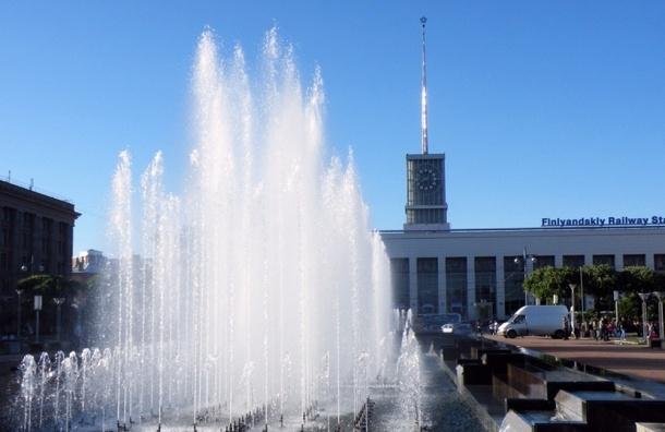 20 апреля стартует фонтанный сезон в Петербурге