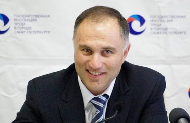 Вице-губернатор Петербурга Марат Оганесян подал заявление об отставке