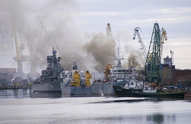 Ущерб от пожара в Северодвинске на заводе «Звездочка» превысил 100 млн рублей