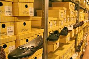 В Петербурге у торгового дома изъяли 25 тысяч пар обуви