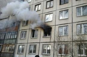 Трех человек эвакуировали в результате пожара на улице Здоровцева