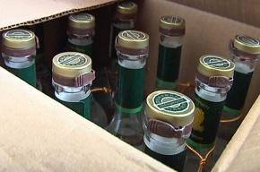 Из магазина на Русановской изъяли тысячу бутылок нелицензированного алкоголя