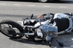 В Петербурге на Московском шоссе разбился насмерть мотоциклист
