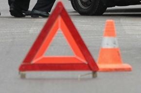 На Трамвайном проспекте иномарка столкнулась с мотоциклом