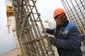 Мигрант упал на стройке «Балтийской жемчужины»