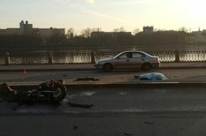 В результате ДТП на Октябрьской набережной погиб мотоциклист