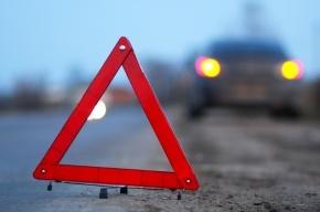 В Петродворцовом районе столкнулось два автомобиля