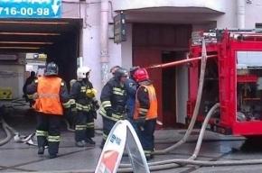 26 человек эвакуировали из-за пожара на 7-й линии Васильевского острова