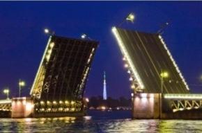 Этой ночью в Петербурге разведут 4 моста