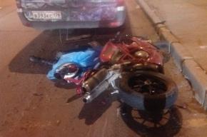 Ночные гонки по Ленинскому проспекту закончились смертью мотоциклиста