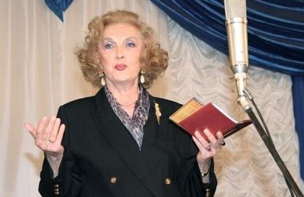 В Москве на 80-м году жизни умерла ведущая «Музыкального киоска» Элеонора Беляева