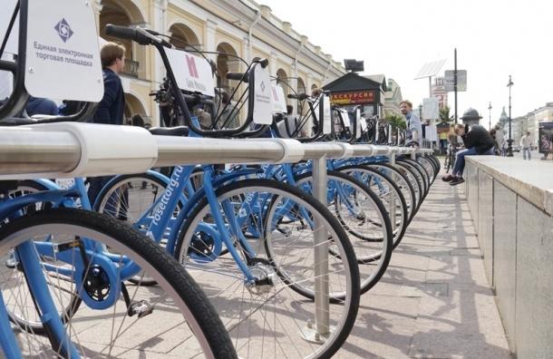 C 18 апреля в Петербурге будут работать круглосуточно велопрокаты