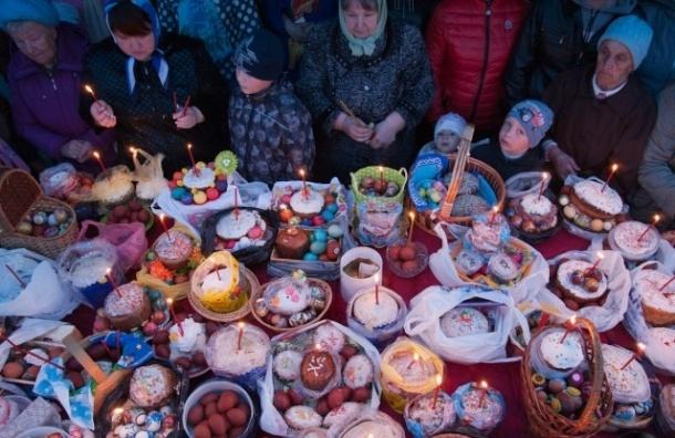 В Петербурге отмечают Великую субботу