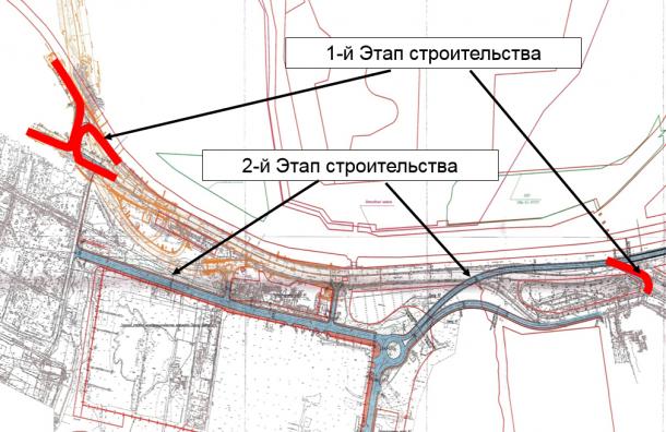 Приморское шоссе после реконструкции получит три дополнительных разворота
