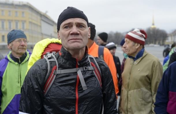 Петербуржец Сергей Лукьянов  собирается обойти Землю пешком