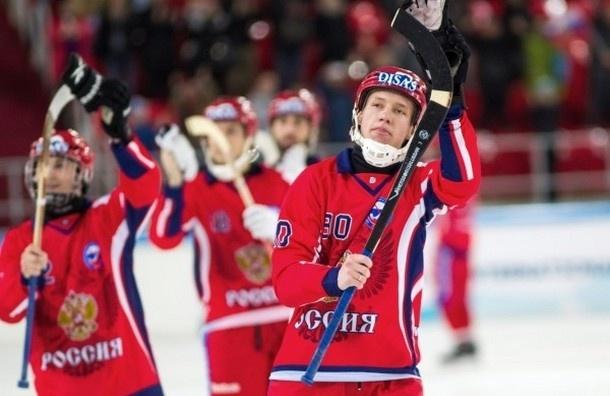 Сборная России победила в чемпионате мира по хоккею с мячом в Хабаровске