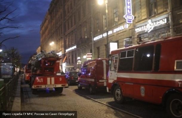 СК РФ возбудил уголовное дело по факту пожара на Большой Конюшенной