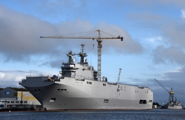 Франция и Россия закрыли вопрос о поставках «Мистралей»