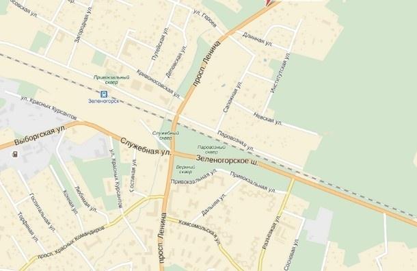 На Зеленогорском шоссе отремонтировали перекресток с пр. Ленина