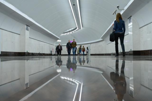 Открытие метро Спортивная-2, фото:Сергей Ермохин: Фото