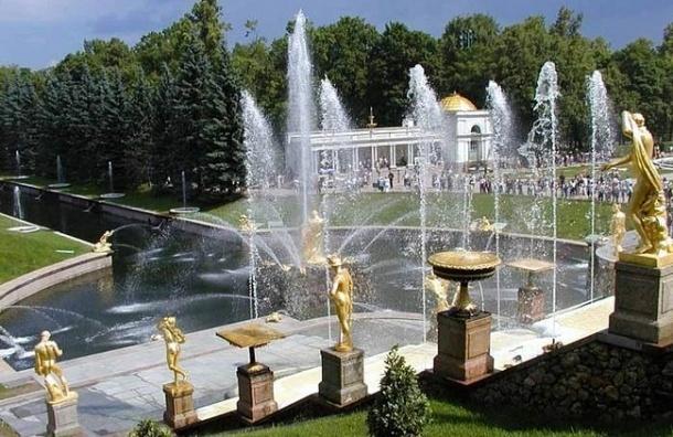 В Петергофе официально открыт сезон фонтанов