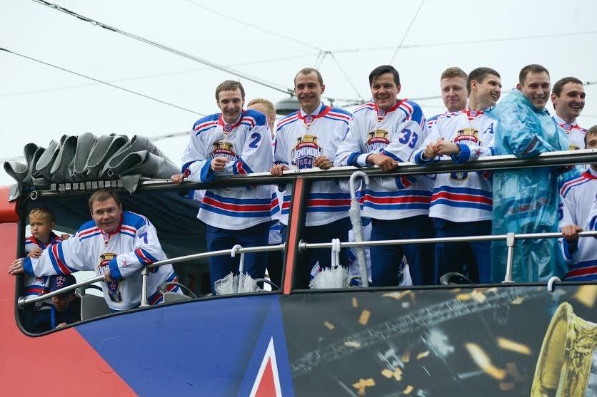 Шествие СКА, фото:Сергей Ермохин