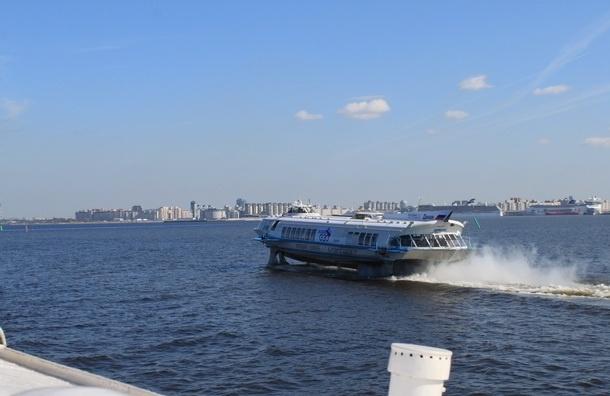 49 пассажиров застряли на заглохшем теплоходе недалеко от Петергофа