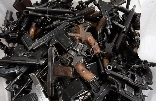 У налетчиков, ограбивших офис на Большой Конюшенной, нашли арсенал оружия