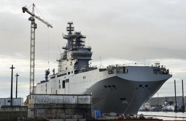 СМИ: Франция может затопить построенные для России мистрали