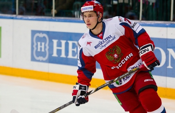 После игры Россия-Словакия в хоккей Максиму Чудинову наложили 17 швов