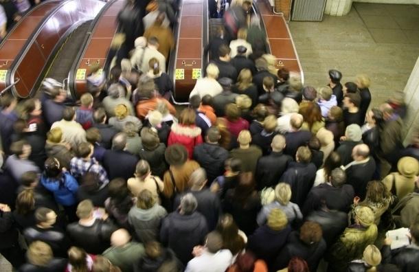 В течение 20 минут на «синей» ветке метрополитена не ходили поезда
