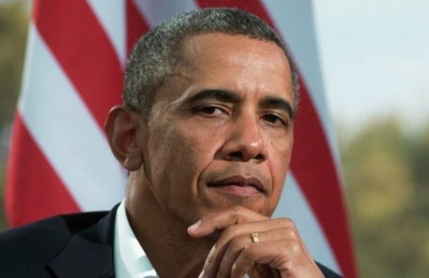 Президент США Барак Обама поздравил россиян с Днем Победы