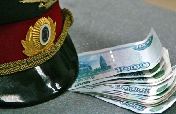 В Кировском районе подполковник полиции задержан за получение взятки