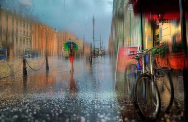 Начало недели в Петербурге будет прохладным и дождливым