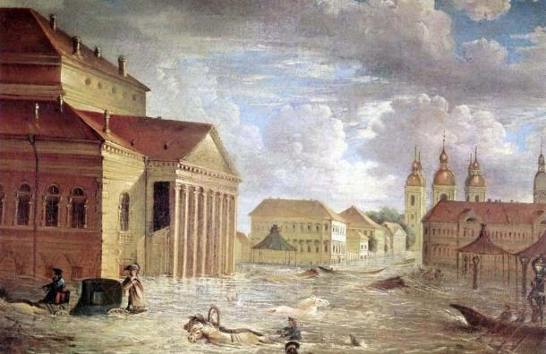 WWF: через сто лет Петербург окажется под водой