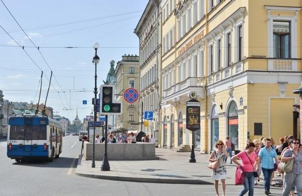 В Петербурге часть Невского проспекта может стать пешеходной зоной