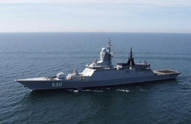 Корабли Балтийского флота прибыли в Северную столицу для участия в параде