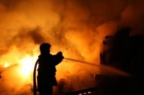 На улице Эсперова произошел пожар в ремонтируемом здании