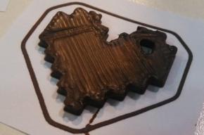 Шоколадный 3D-принтер на 3D Print Conference. St. Petersburg