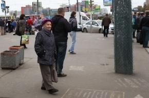 В Петербурге на пенсионерку обрушился потолок