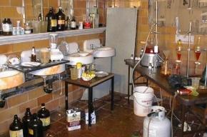 Нарколабораторию ликвидировали в Василеостровском районе