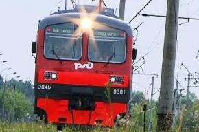 Из горящей электрички Петербург-Луга было эвакуировано 1200 человек