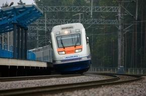 Недалеко от Зеленогорска поезд «Аллегро» сбил пожилого человека