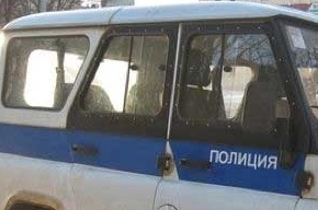 На Пулковском шоссе «Мицубисси» столкнулся с полицейским автомобилем