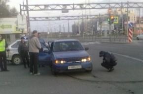 На улице Пограничника Гарькавого в ДТП пострадал пассажир Daewoo Nexia